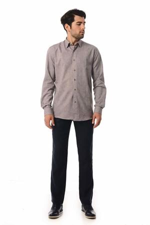 Hatemoğlu - Regular Kahverengi Gömlek (1)