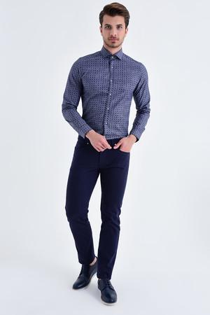 Hatem Saykı - Lacivert Regular Fit Spor Pantolon (1)