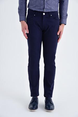 Hatem Saykı - Lacivert Regular Fit Spor Pantolon