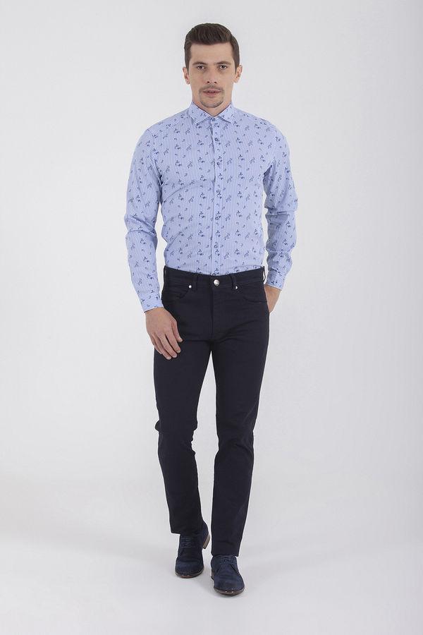 Regular Lacivert Pantolon