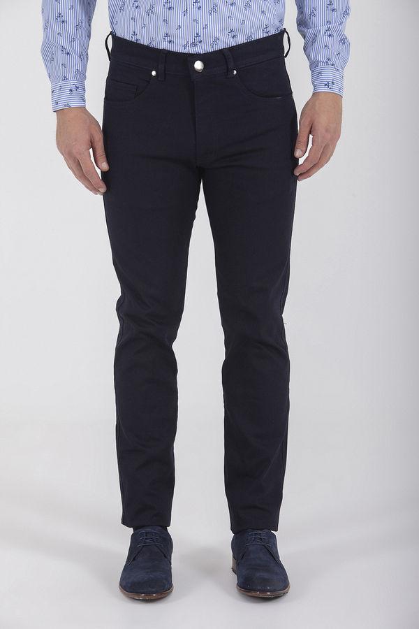 Regular Fit Lacivert Pantolon