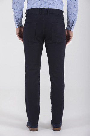Regular Fit Lacivert Pantolon - Thumbnail