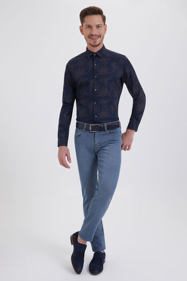 Hatemoğlu - Regular Lacivert Pantolon (1)