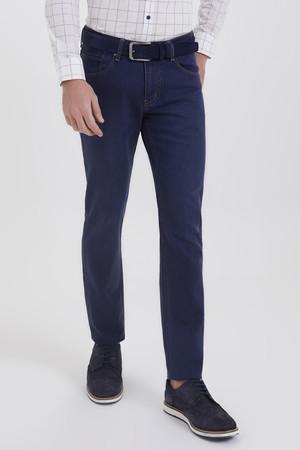 Hatemoğlu - Lacivert Regular Fit Kot Pantolon