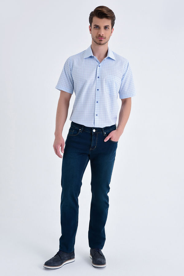 Hatem Saykı - Regular Lacivert Pantolon (1)