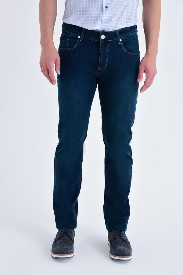 Hatem Saykı - Regular Lacivert Pantolon