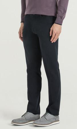 Regular Lacivert Pantolon - Thumbnail