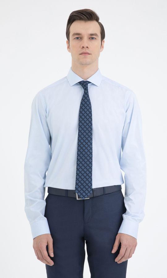 Hatem Saykı - Regular Mavi Gömlek