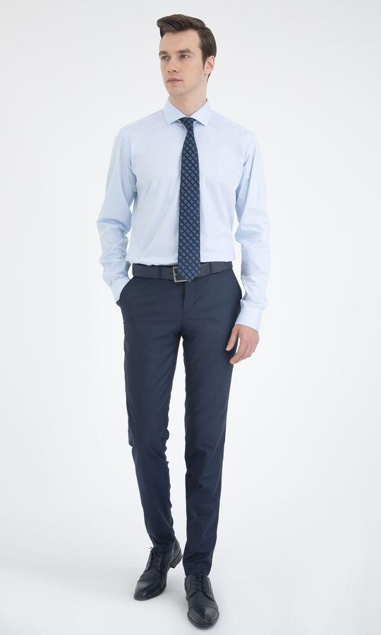 Hatem Saykı - Regular Mavi Gömlek (1)