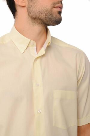 Regular Sarı Gömlek - Thumbnail