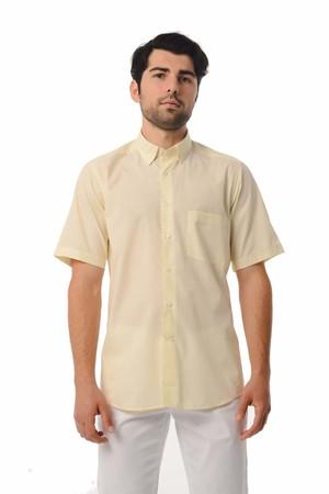 Hatemoğlu - Regular Sarı Gömlek