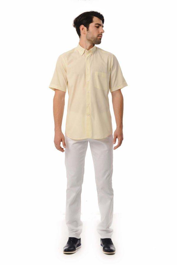 Hatemoğlu - Regular Sarı Gömlek (1)