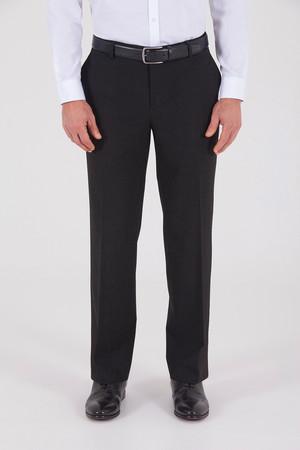 Hatemoğlu - Siyah Regular Fit Kumaş Pantolon