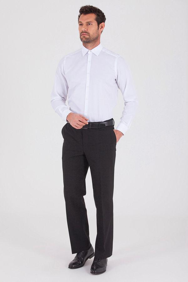 Hatemoğlu - Siyah Regular Fit Kumaş Pantolon (1)