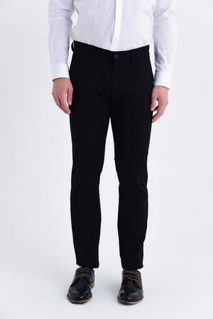 Regular Siyah Pantolon - Thumbnail