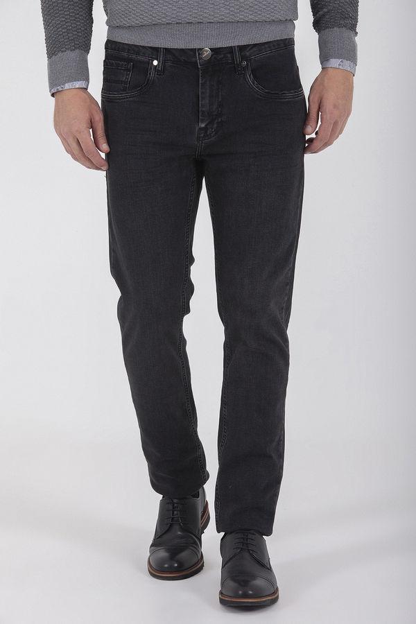 Hatem Saykı - Regular Siyah Pantolon