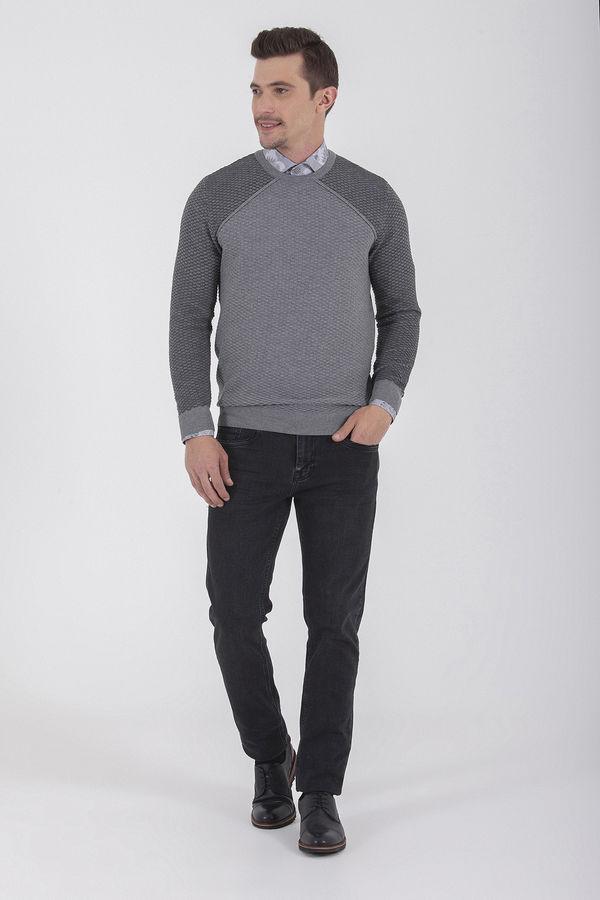 Hatem Saykı - Regular Siyah Pantolon (1)