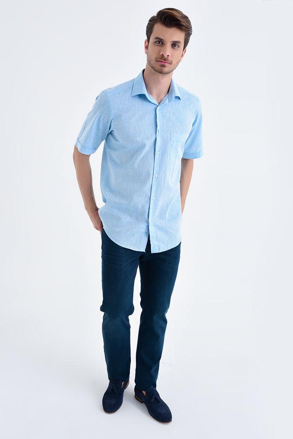 Hatemoğlu - Regular Turkuaz Gömlek (1)