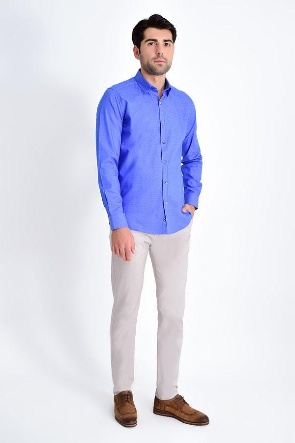 Hatem Saykı - Sax Desenli Slim Fit Gömlek (1)