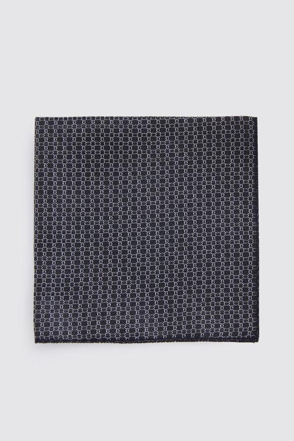 Hatemoğlu - Desenli Siyah Mendil (1)