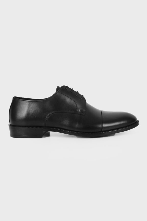 Hatemoğlu - Siyah Analin Basic Ayakkabı