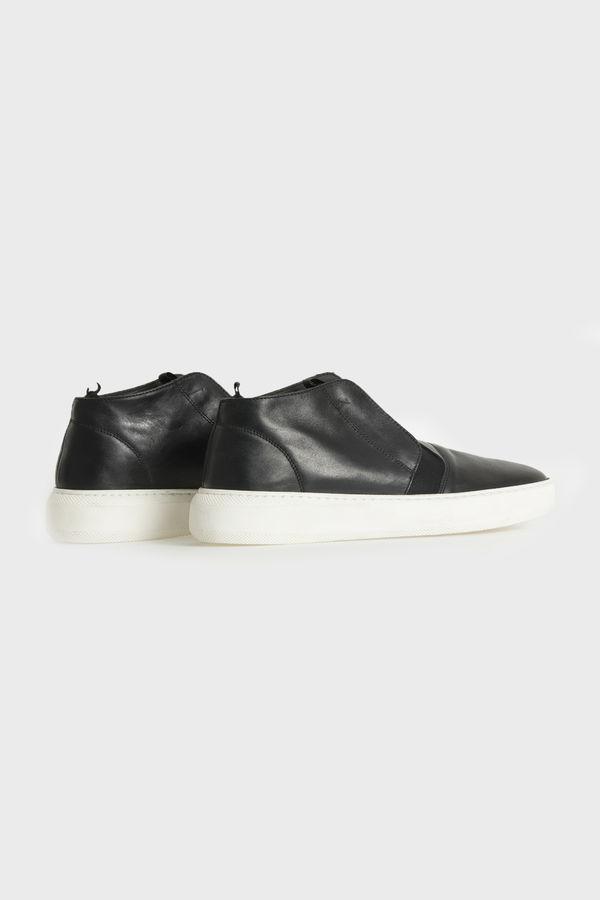 Hakiki Deri Siyah Günlük Ayakkabı