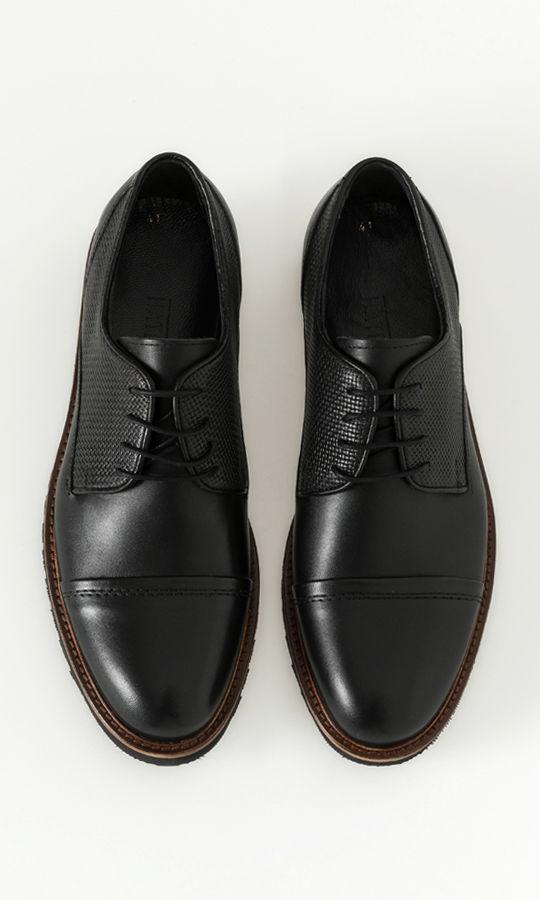 Hatemoğlu - Hakiki Deri Siyah Günlük Ayakkabı (1)