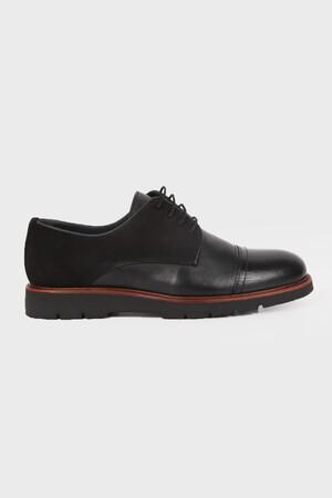 HATEMOĞLU - Siyah Günlük Oxford Ayakkabı