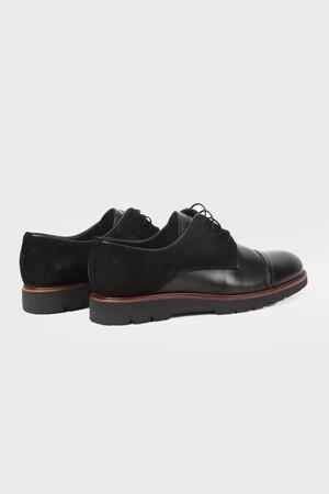 HATEMOĞLU - Siyah Günlük Oxford Ayakkabı (1)