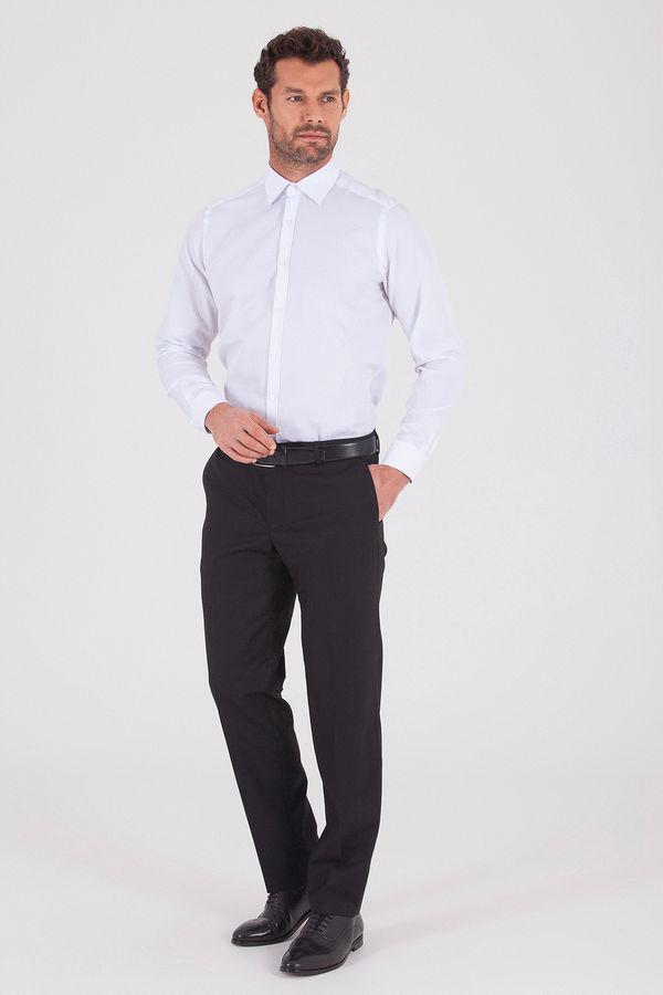 Hatemoğlu - Siyah Slim Fit Kumaş Pantolon (1)