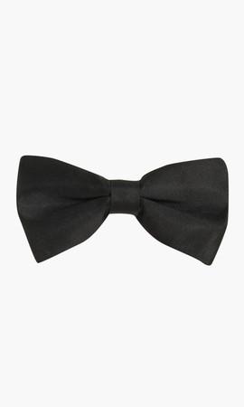 Siyah Papyon / Kuşak / Mendil Seti - Thumbnail