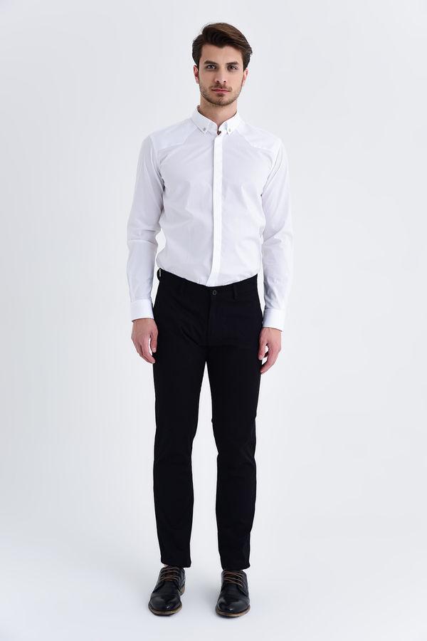 HATEMOĞLU - Siyah Regular Pantolon (1)