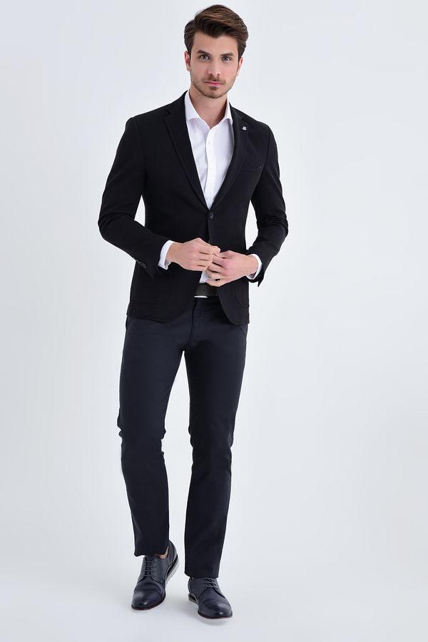 HATEM SAYKI - Siyah Slim Fit Ceket (1)