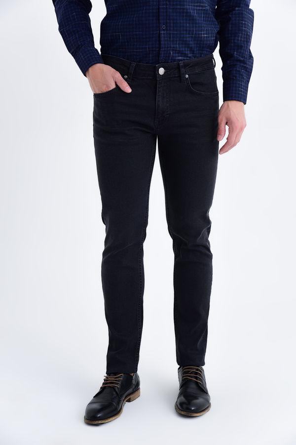 HATEM SAYKI - Siyah Slim Fit Pantolon