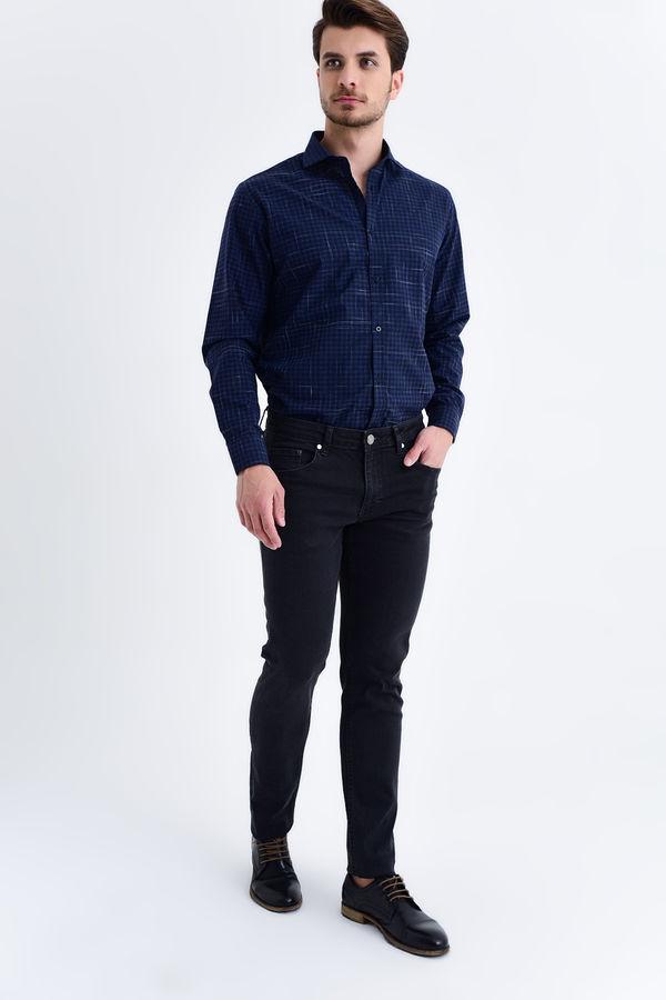 HATEM SAYKI - Siyah Slim Fit Pantolon (1)