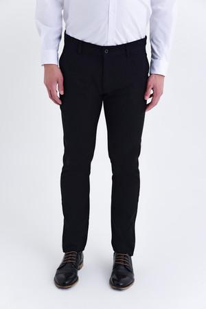 HTML - Siyah Slim Fit Pantolon