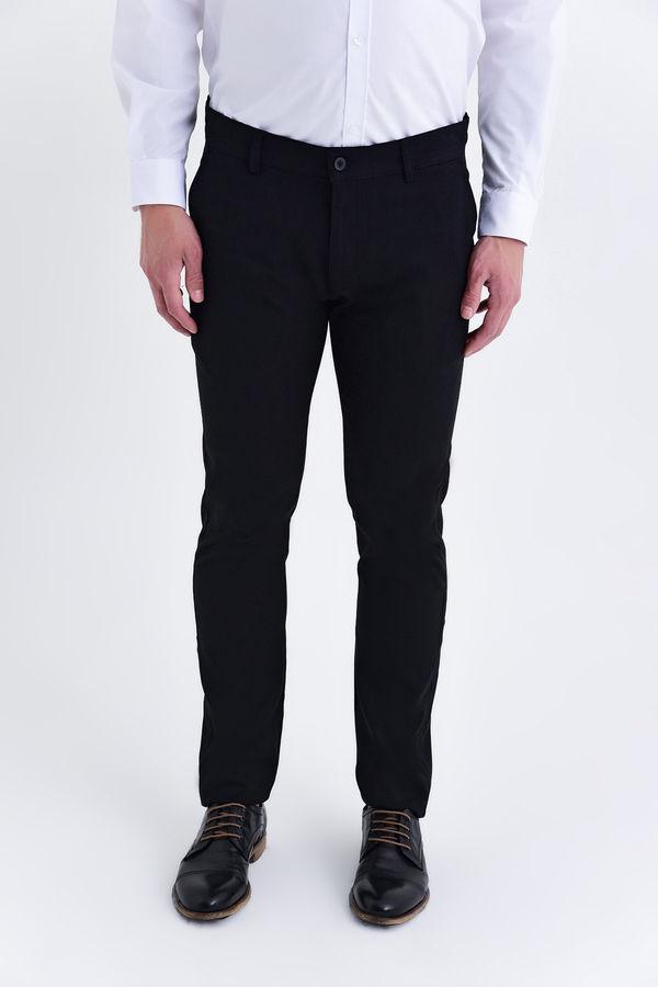 HTML - Siyah Slim Fit Spor Pantolon
