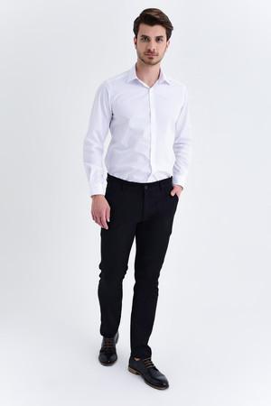 Siyah Slim Fit Pantolon - Thumbnail