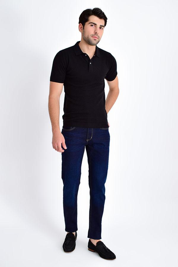 HATEM SAYKI - Siyah Modelli Regular T-shirt (1)