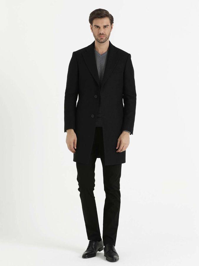 Hatem Saykı - Siyah Desenli Palto (1)
