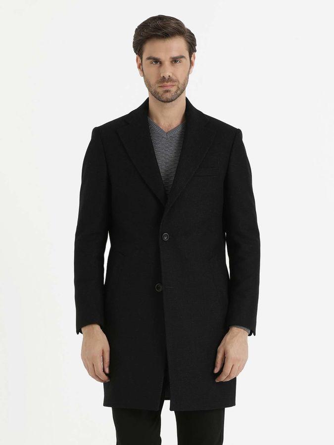 Hatem Saykı - Siyah Desenli Palto