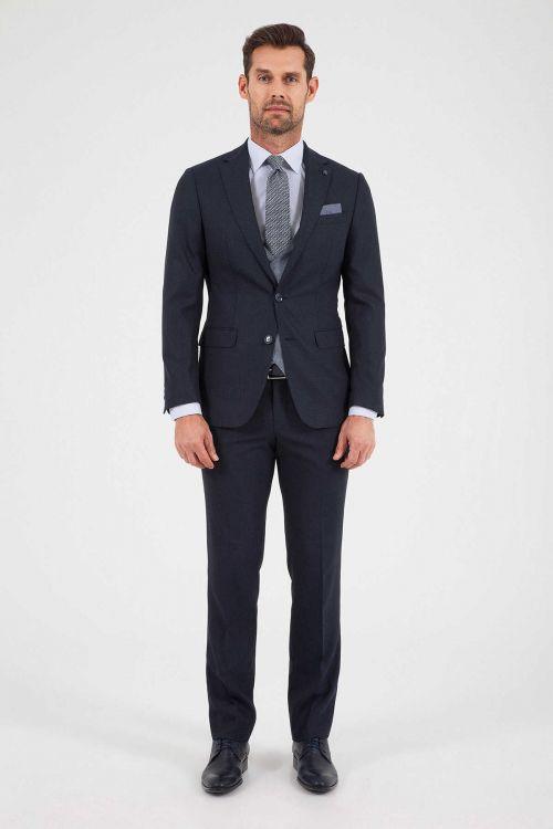 HATEM SAYKI - Siyah Slim Fit Takım Elbise (1)