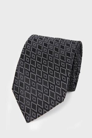Hatemoğlu - Siyah Desenli Kravat