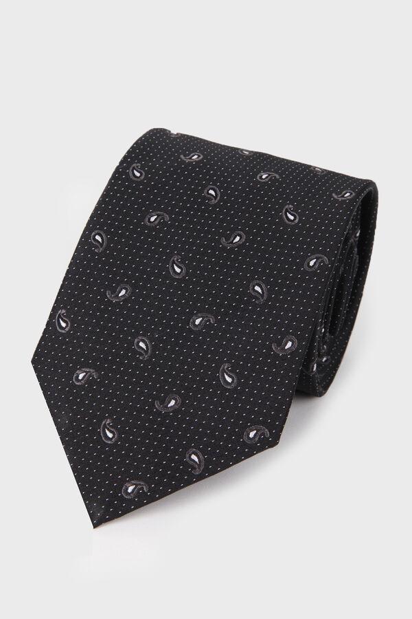 Siyah Desenli Kravat