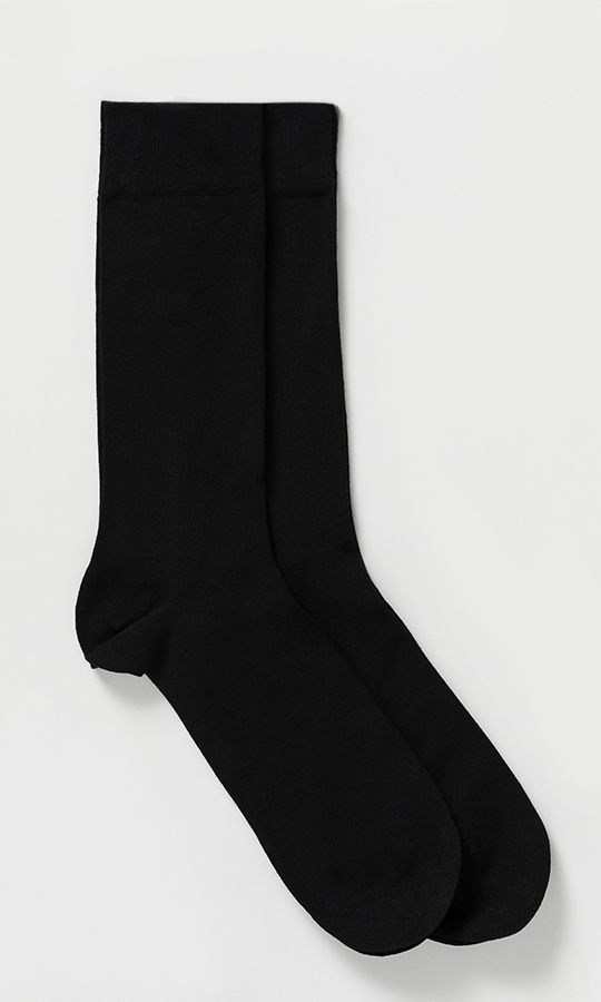 Siyah - Lacivert 2'li Çorap