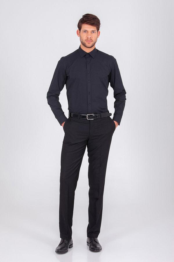 Hatemoğlu - Siyah Regular Gömlek (1)