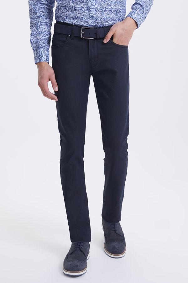Hatem Saykı - Siyah Slim Fit Pantolon