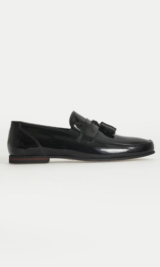 Hatem Saykı - Hakiki Deri Siyah Klasik Ayakkabı