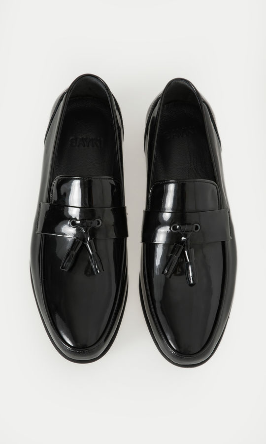 Hatem Saykı - Hakiki Deri Siyah Klasik Ayakkabı (1)
