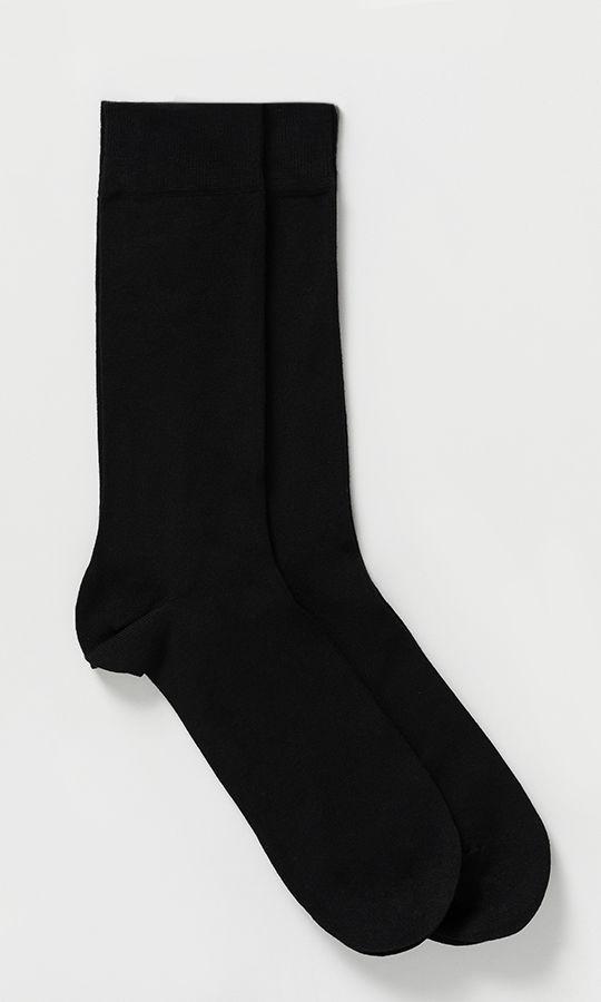 Siyah 2'li Çorap